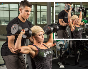 Omuzlarınızı büyütmek için en temel egzersiz: Overhead Press
