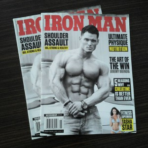Iron Man fitness dergisi Türkiye'de!